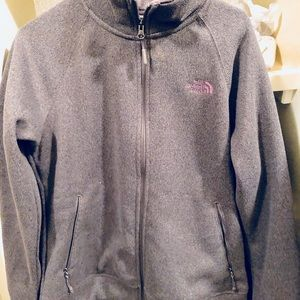 North Face fleece jacket Women's size medium